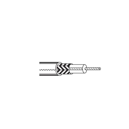 RG179B/U Teflon coaxial cable,