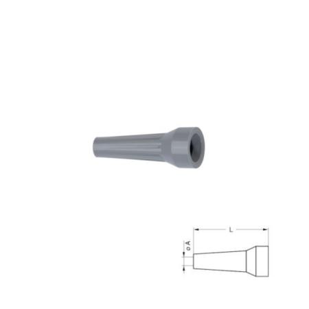 Grey strain relief boot 0B,