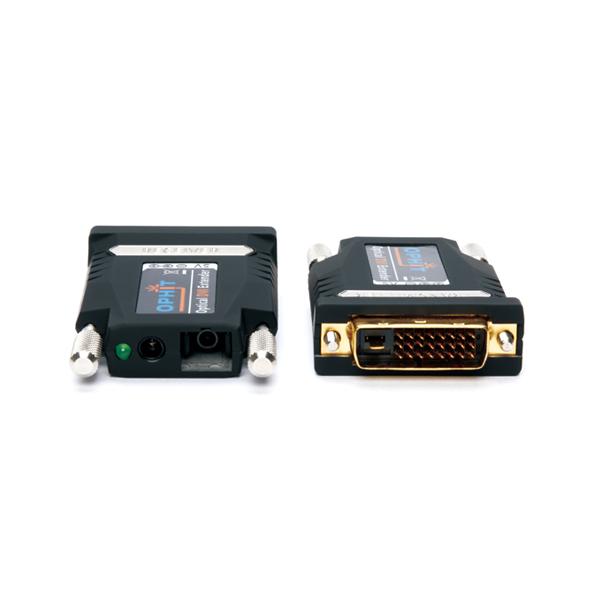 DVI to Optical Tx + Rx, MM SC