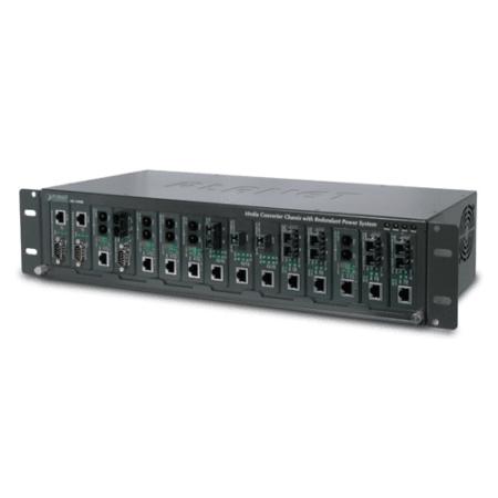 15-Slot 19'' Media converter